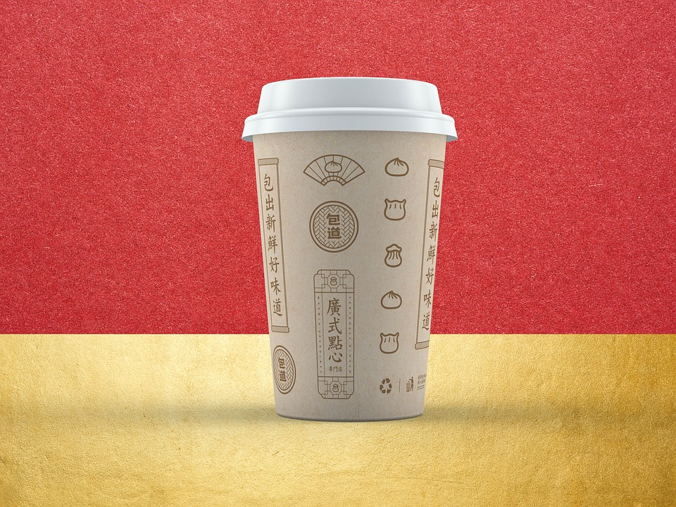 Cup, Effect Picture, Chinese Style