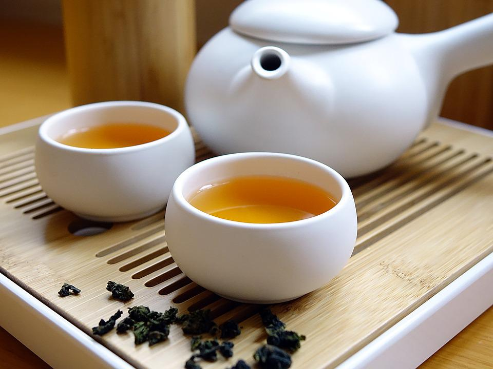 Chinese Tea, Drink, Beverage, Leaf, Dried, Asian