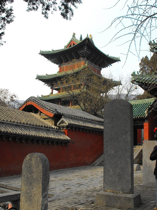 Shaolin, Temple, Chinese, History, Roof, Monastery