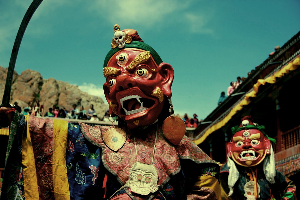 Ladakh, India, Tibet, Costume, Tradition, Chinese