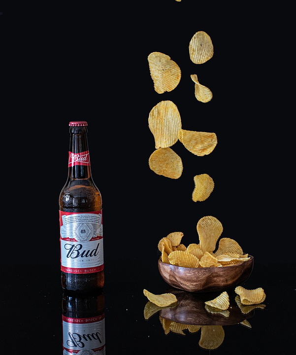Food Photography, Chips, Food, Beer, Alcohol