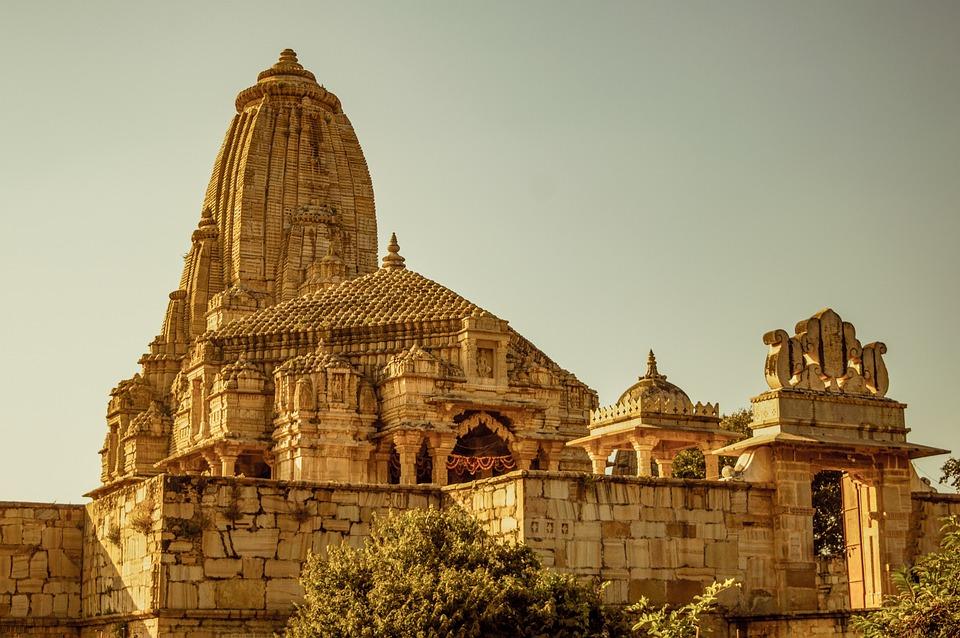 Meera Bai Temple, Chittor Fort, Hindu Temple