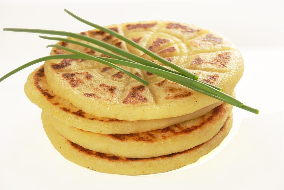 Potato, Pancakes, Chive, Traditional, Food, Dish, Tasty