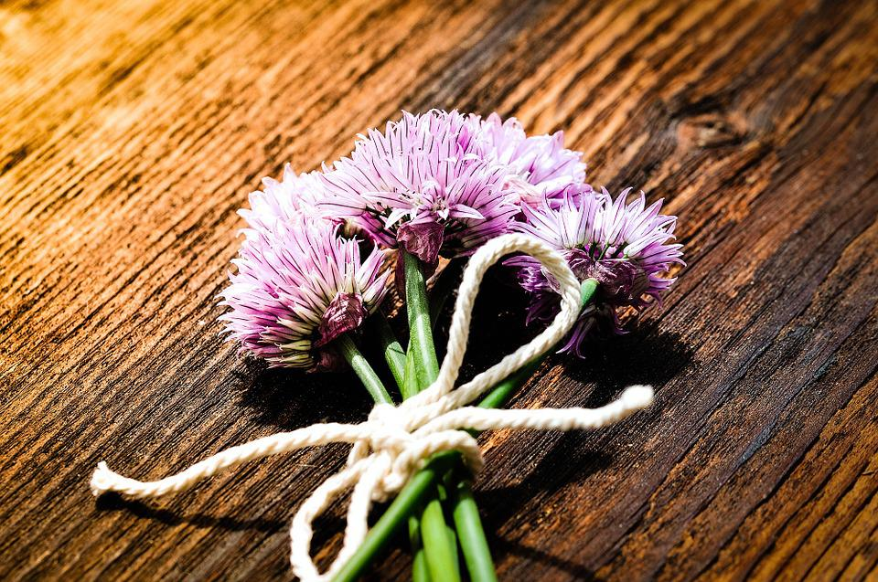 Chives, Flowers, Chive Flowers, Purple