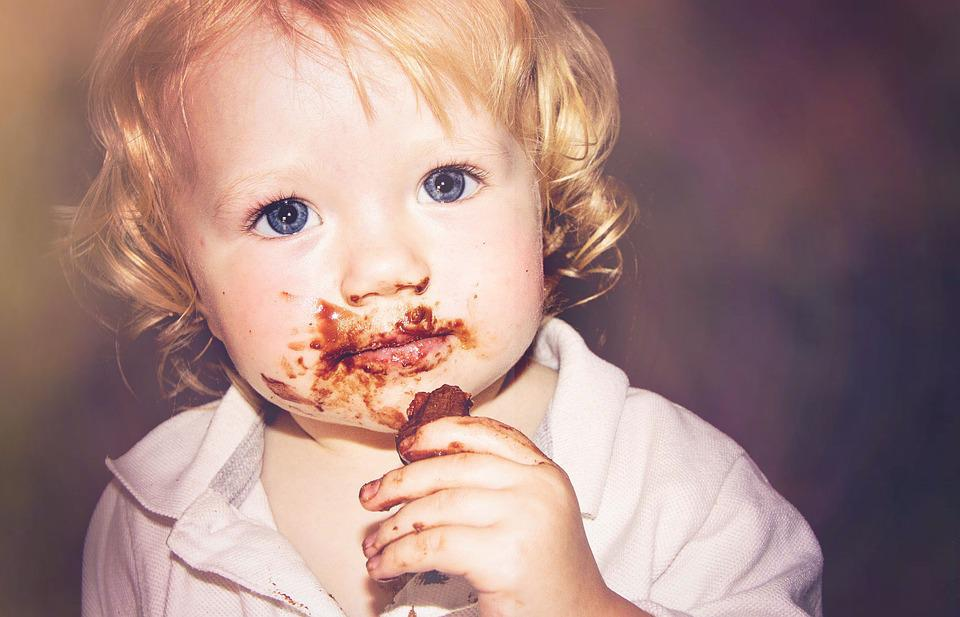 Chocolate, Sweet, Baby, Blue Eyes