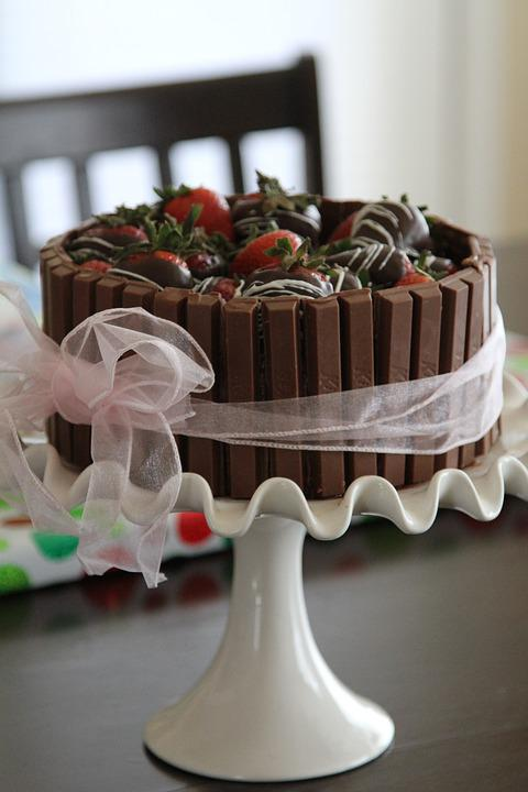 Cake, Chocolate, Sweet, Birthday, Celebration, Wedding