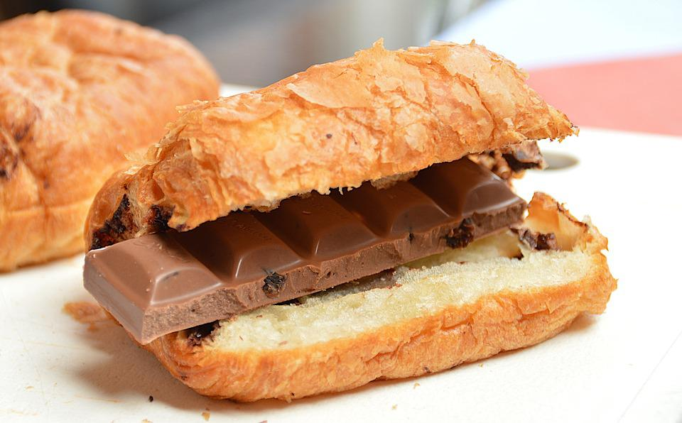 Croissant, Chocolate, Breakfast, Healthy, Fruit And Nut