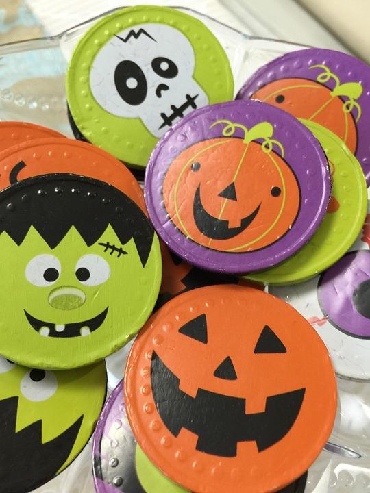 Halloween, Chocolate, Candy