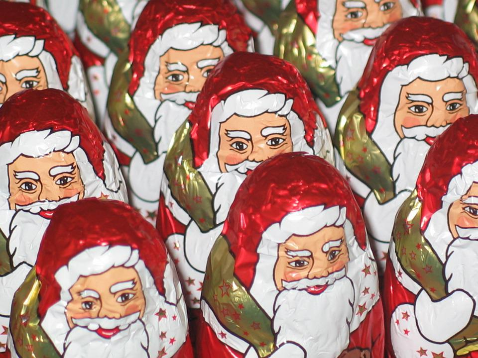 Santa Claus, Chocolate Man, Holkörper, Chocolate
