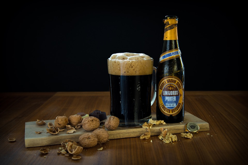 Beer, Nuts, Foam, Chocolate, Dark, Delicious, Thirsty
