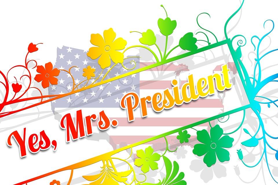 Woman, President, Clinton, Usa, Choice, Yes