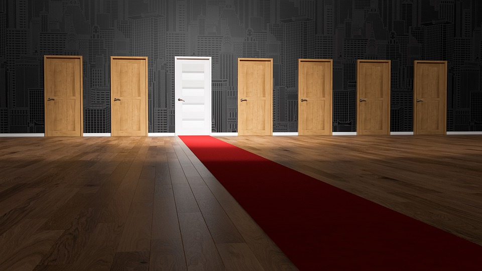 Doors, Choices, Choose, Decision, Opportunity, Choosing