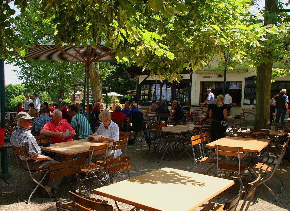 Beer Garden, Summer, Choir Tour, Cecilian, Rest