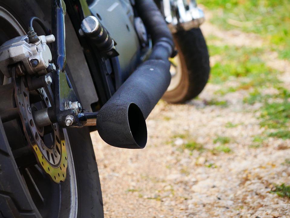 Chopper, Exhaust, Exhaust System