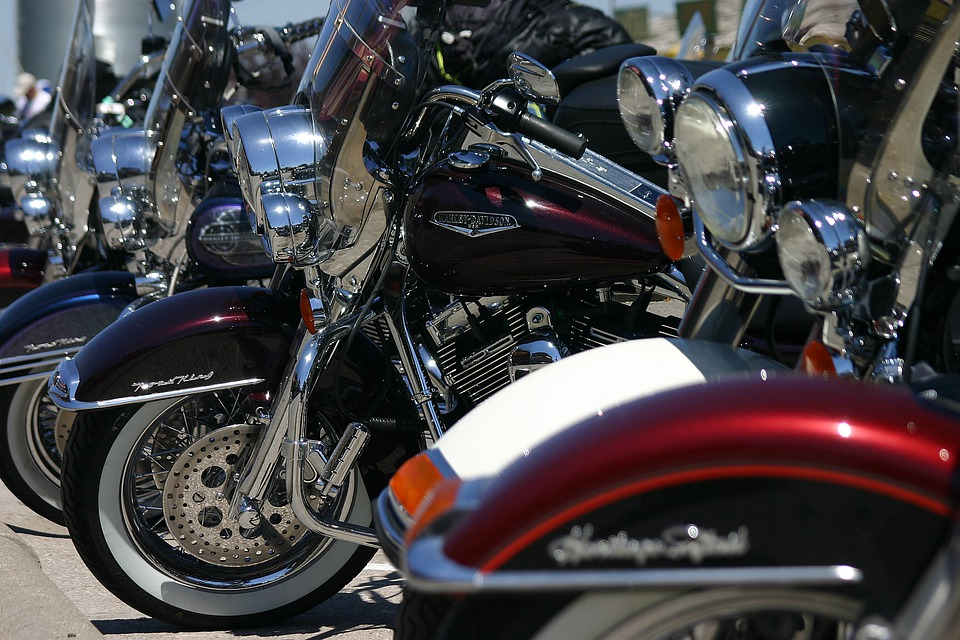 Harley, Chopper, Motorcycle, Chrome, Motor, Freedom