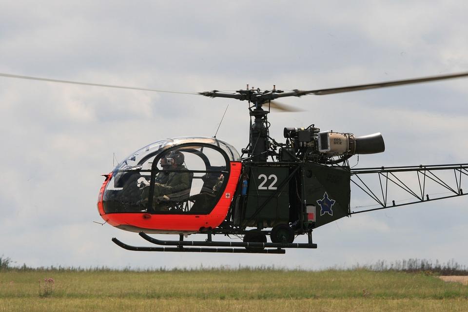 Helicopter, Chopper, Flight, Transport, Air, Travel