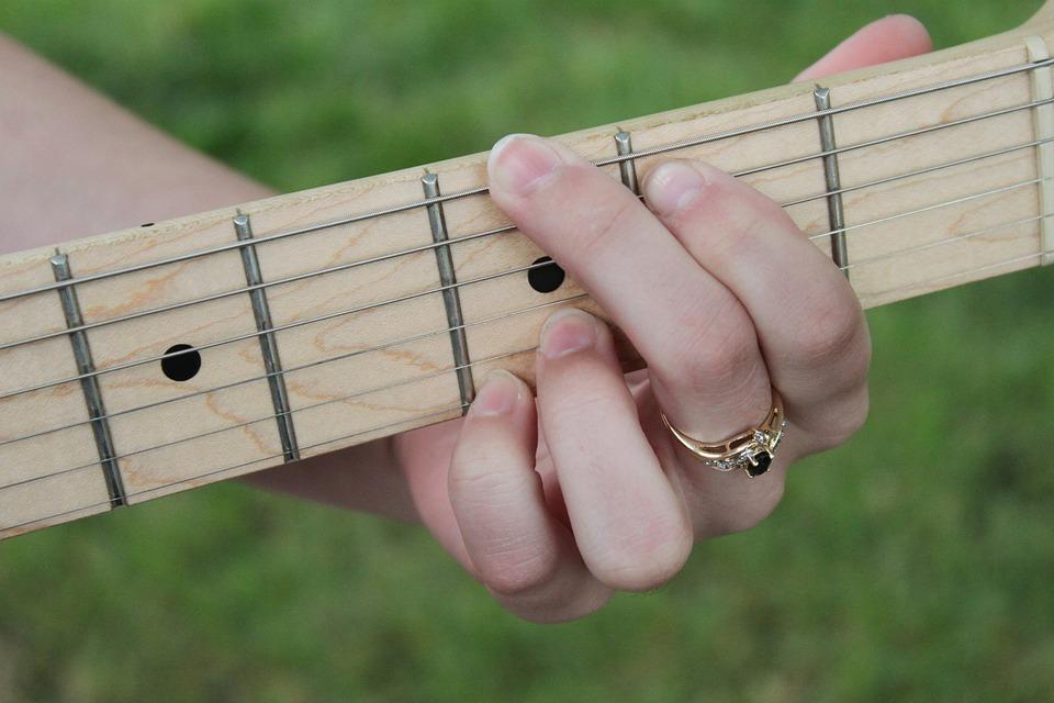 Free Photo Chords Fingers Guitar Instrument Acoustic Guitar Max Pixel
