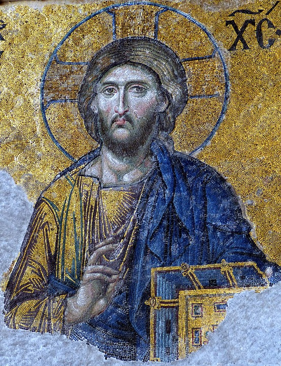 Christ, Mosaic, Jesus, Church, Christianity, Image