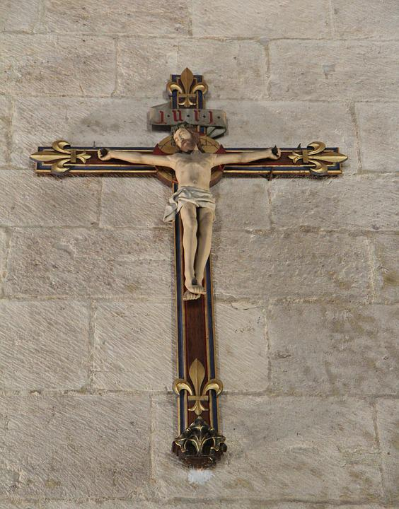 Beaune, The Hospices De Beaune, Cross, Christ, Burgundy
