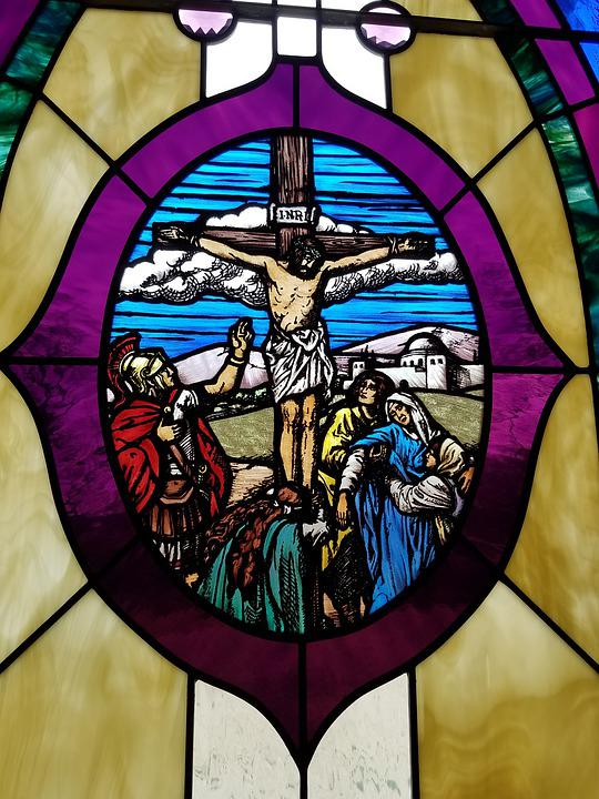 Crucifixion, Window, Passion, Easter, Religion, Christ