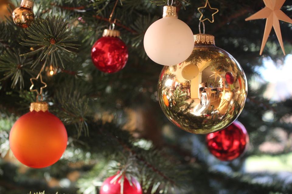 Christbaumkugeln Modern.Free Photo Christbaumkugeln Mirroring Christmas Ornaments Max Pixel