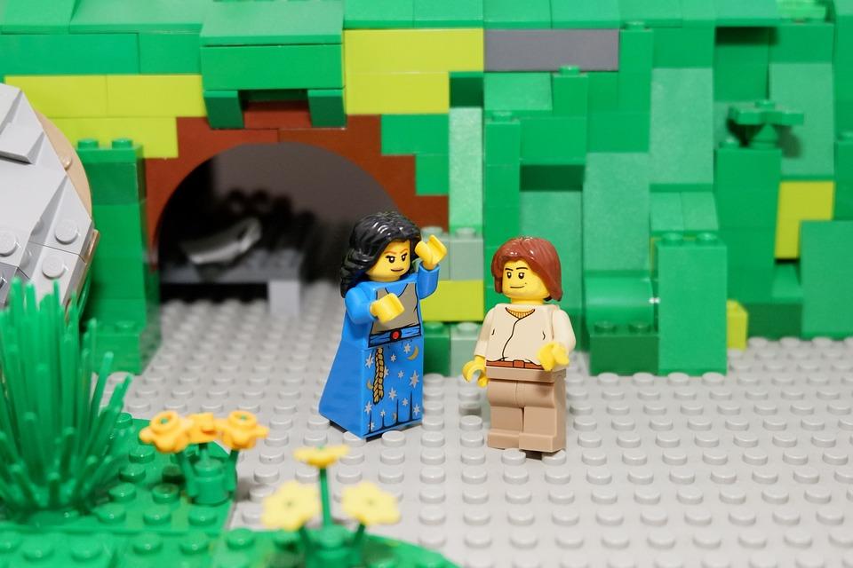Easter, Spring, Lego, Easter Story, Christian, Jesus