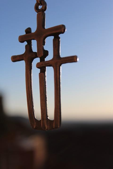 Cross, Christian, Freedom, Necklace, Religion, Jesus