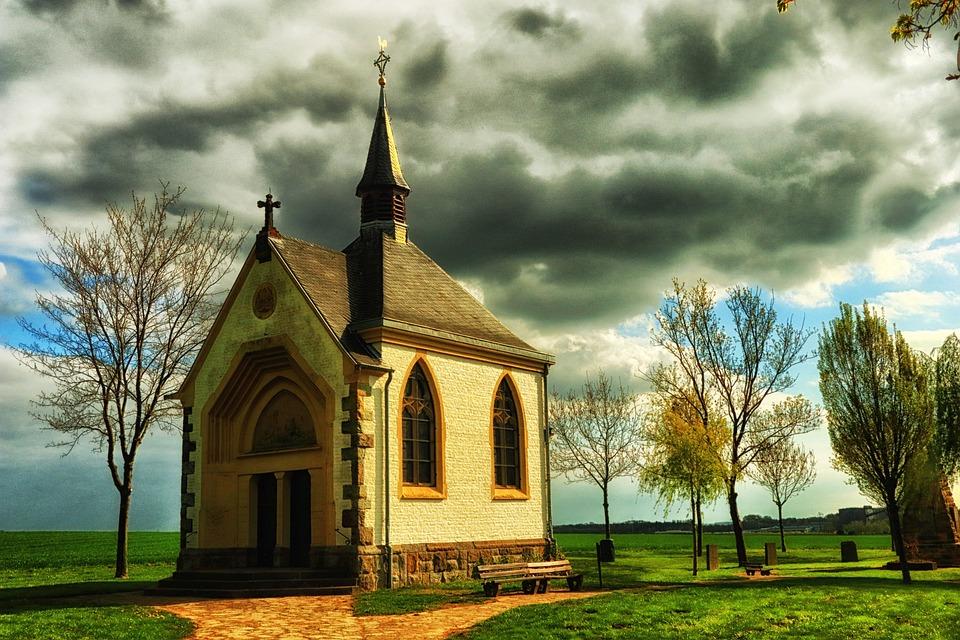 Chapel, Eifel, Germany, Wayside Chapel, Christian
