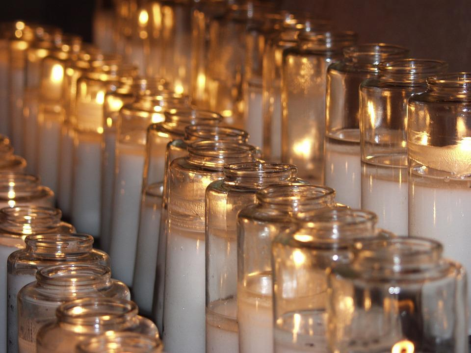 Candles, Prayer, Glowing, Christianity
