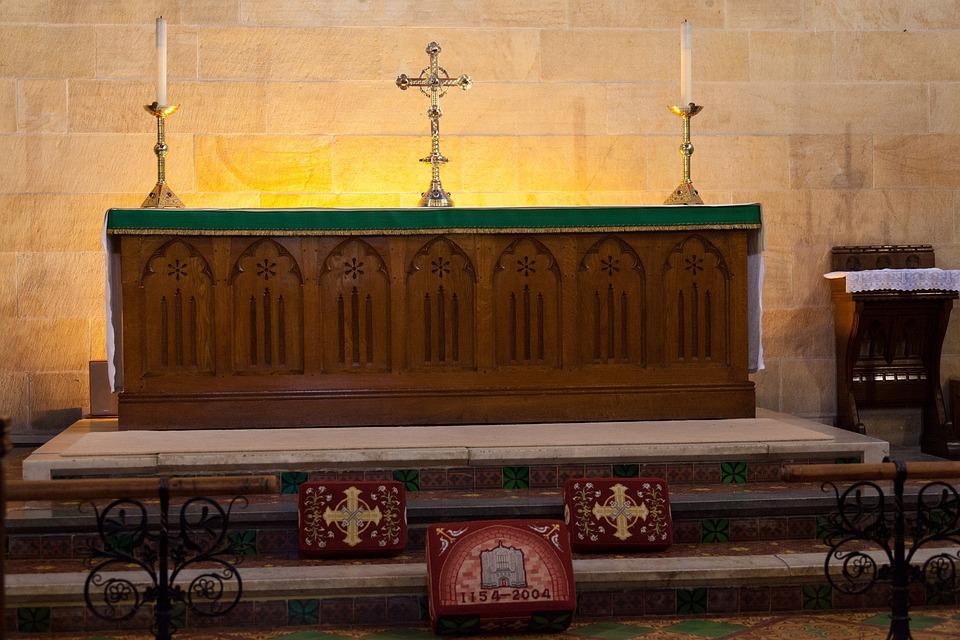 Altar, Candle, Catholic, Christ, Christianity, Church