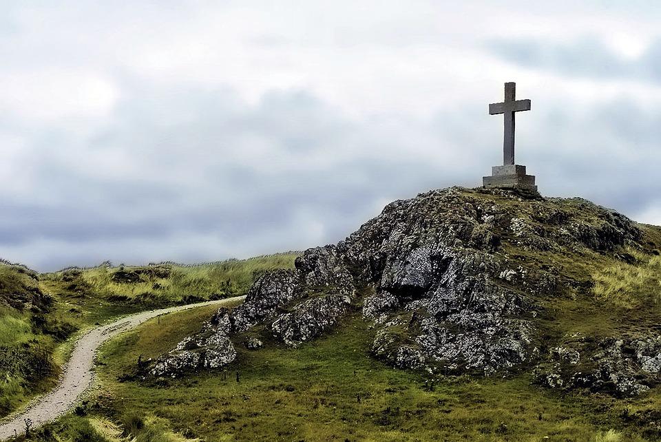 Cross, Summit Cross, Christianity, Christian, God, Sky