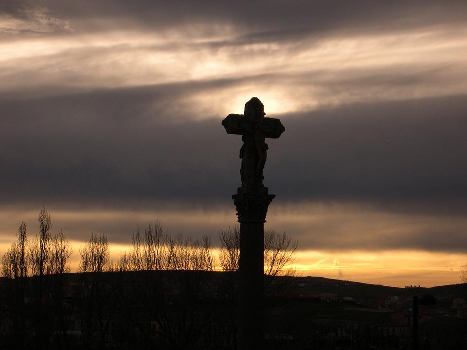 Free Photo Christianity Hope Clouds Sunset Jesus Christian Max Pixel