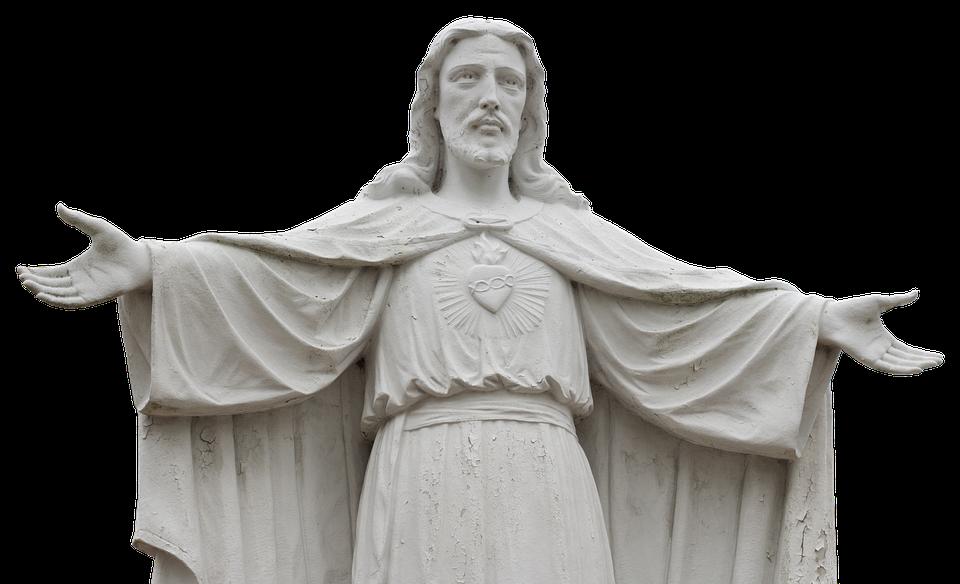 Jesus, Statue, Sculpture, Christianity, Figure