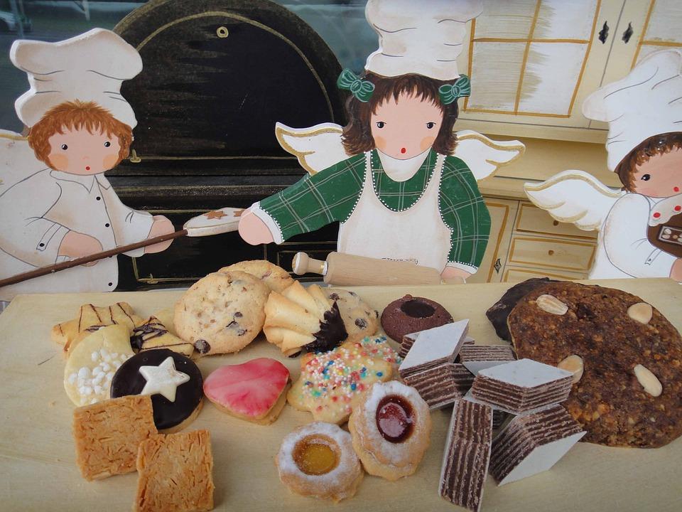 Angel Bakery, Christmas, Cookie