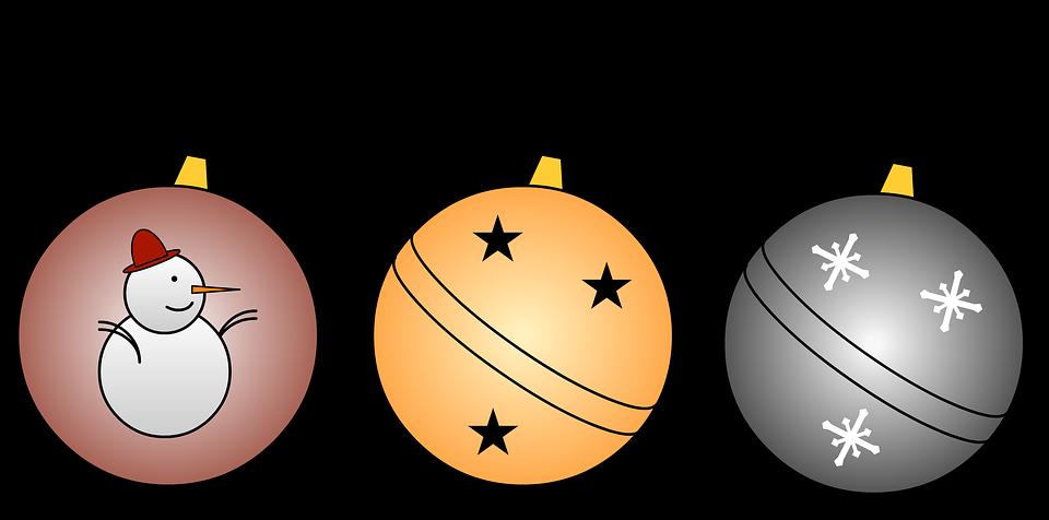 Christmas Balls, Christmas, Decorations