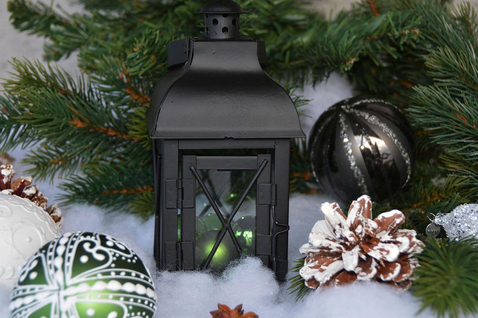 Lantern, Christmas Balls, Balls, Christmas, Advent