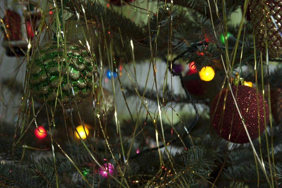 Christmas Tree, Christmas Baubles, Ornaments
