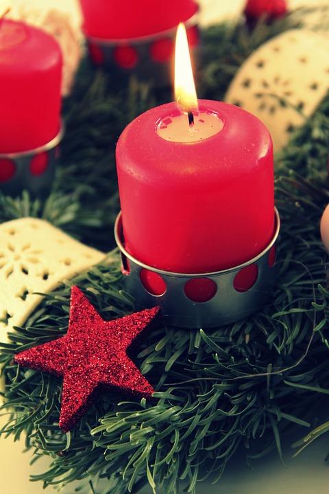 Decoration, Christmas, Xmas, Advent, Candlelight