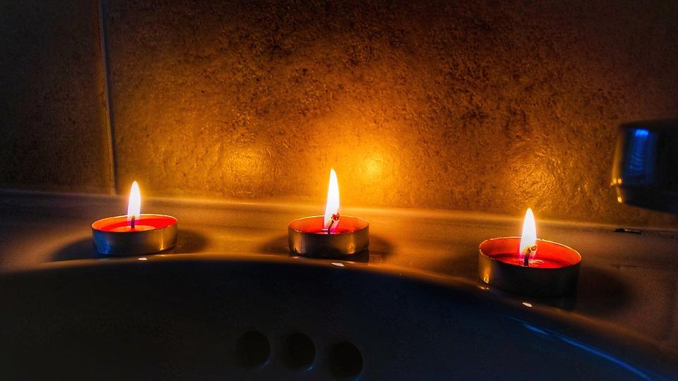 Candle, Flame, Burnt, Candlelight, Christmas