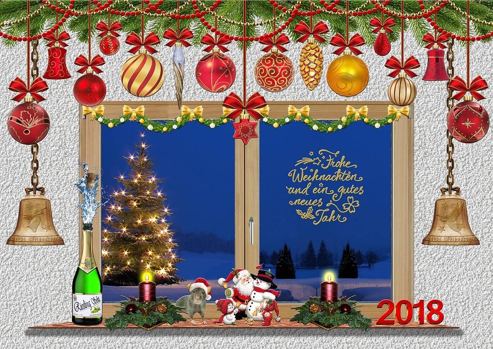 Christmas, Christmas Card, Christmas Motif