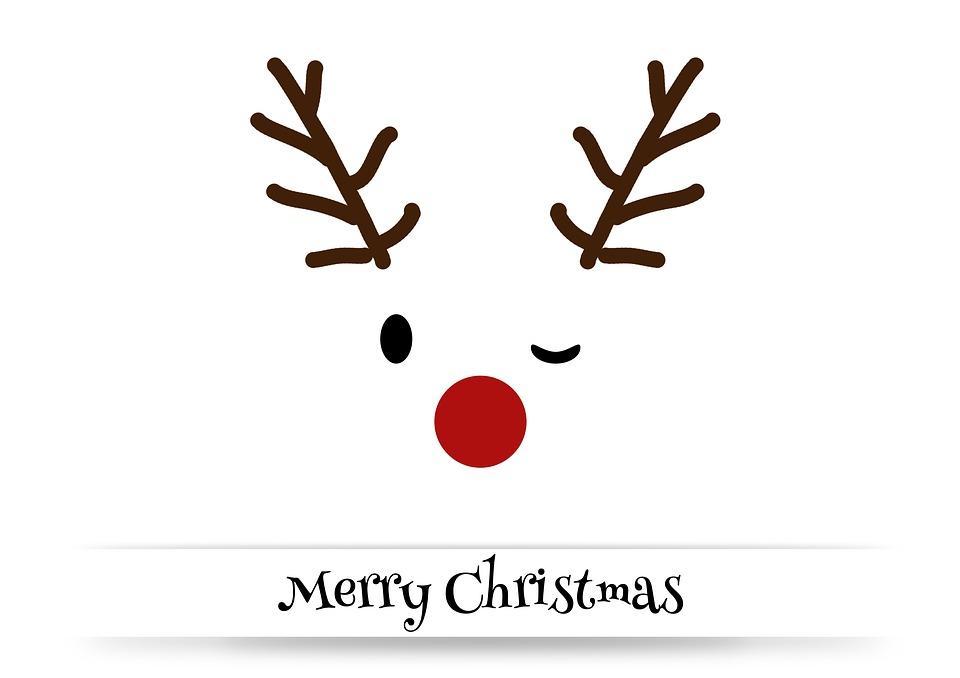Christmas, Christmas Card, Merry Christmas, Rudi