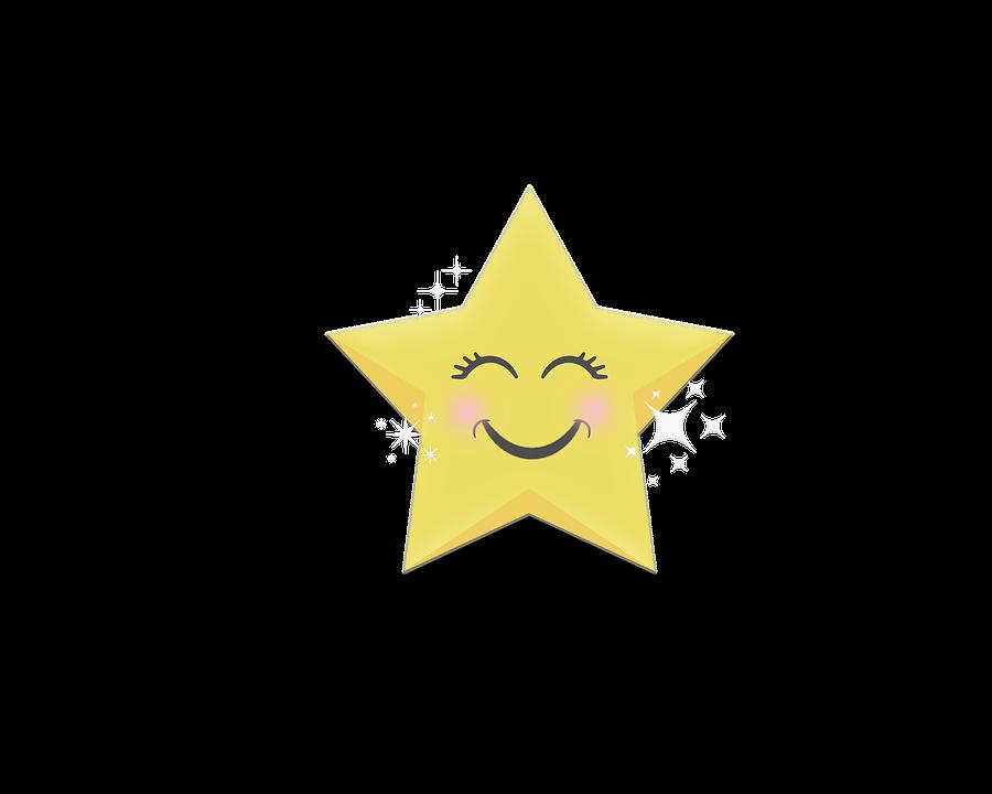 Happy, Star, Bright, Christmas, Celebration, Moon
