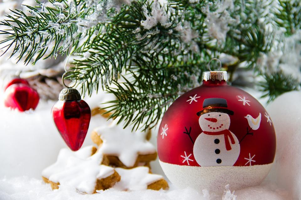 Christmas, Christmas Bauble, Star, Cookies, Cookie