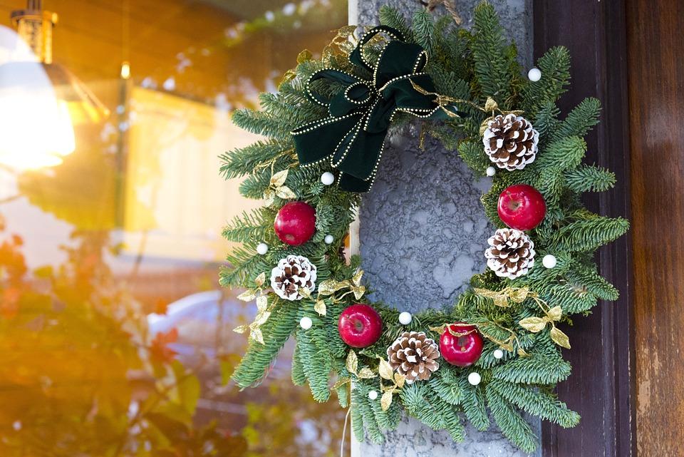 Christmas Wreath, Christmas, Wreath