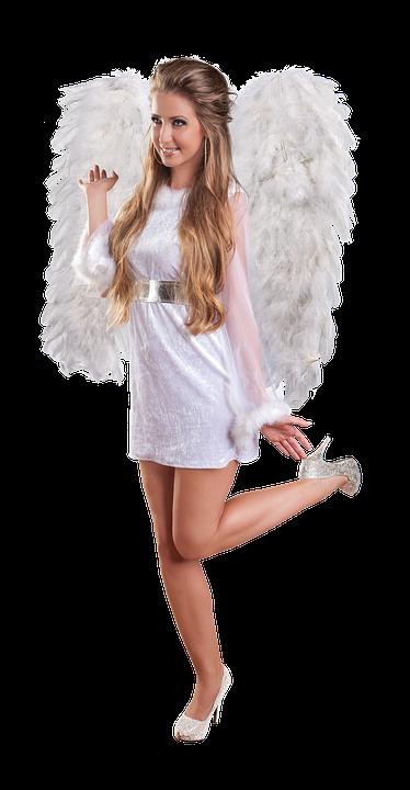 Christmas, Angel, Woman, Angel Figure, Contemplative