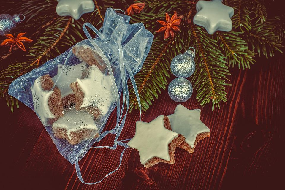 Cinnamon Stars, Christmas Cookies, Sweetness, Treat