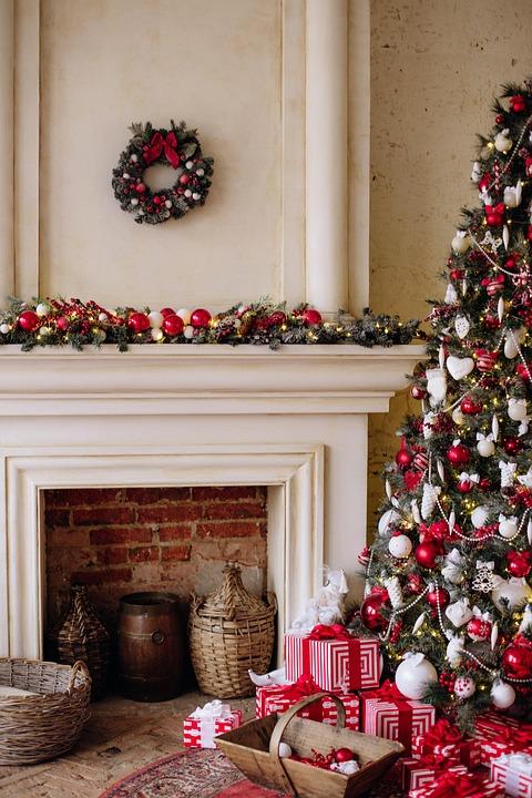 Happy, New, Year, Cozy, Holiday, Christmas, Celebrate