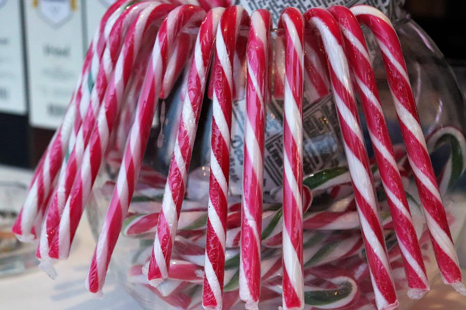 Colorful Candys, Sweets, Christmas, Holiday, Decoration