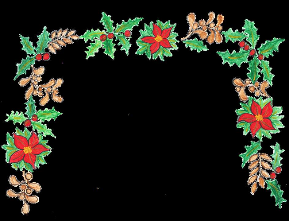 Christmas, Holly, Mistletoe, Decoration, Holiday