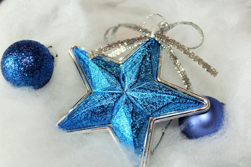 Christmas, Star, Decoration, Background, Poinsettia